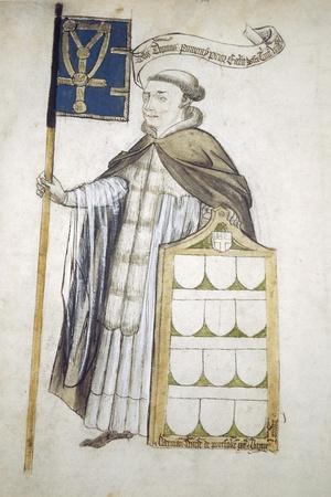 Thomas Pomeroy, Prior of Holy Trinity, in Aldermanic Robes, C1450