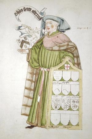 Thomas Scott, Lord Mayor of London 1458-1459, in Aldermanic Robes, C1450