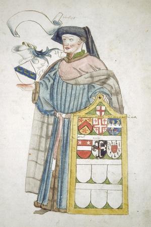 Unidentified London Alderman in Aldermanic Robes, C1450