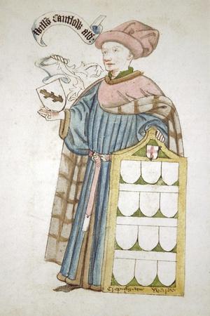 William Cantelowe, Sheriff of London 1448-1449, in Aldermanic Robes, C1450