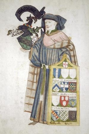 William Whetenhall, Sheriff of London 1440-1441, in Aldermanic Robes, C1450