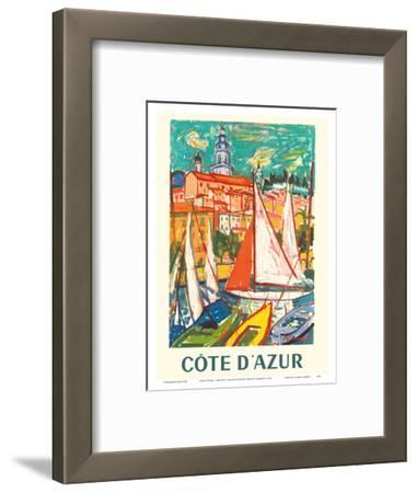 Cote D'Azur - Menton, France