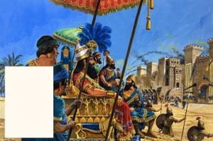 Babylon the Mighty: under the Assyrian Heel by Roger Payne