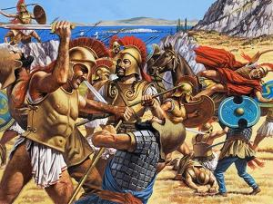 Battle of Marathon by Roger Payne