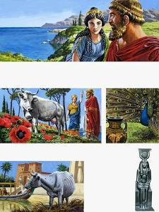 Legends of Ancient Greece: Queen of Beauty by Roger Payne