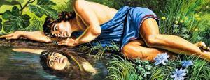 Legends of Ancient Greece: The Fatal Reflection by Roger Payne