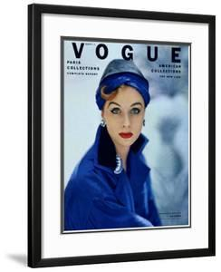 Vogue Cover - September 1952 by Roger Prigent