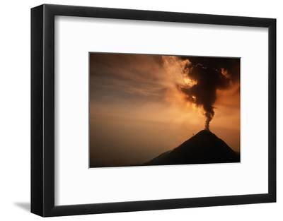 Eruption of the Colima Volcano