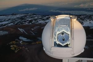 Keck Telescope by Roger Ressmeyer