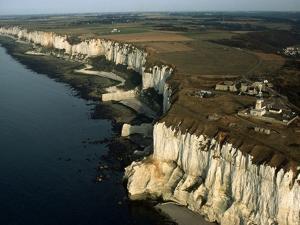 Les Falaises Chalk Cliffs by Roger Ressmeyer