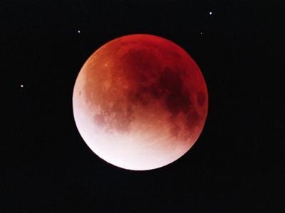 Lunar Eclipse by Roger Ressmeyer