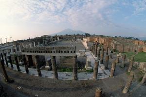 Pompeii and Vesuvius by Roger Ressmeyer