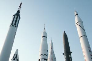Rockets at Rocket Park by Roger Ressmeyer