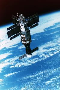 Salyut-7 Space Station by Roger Ressmeyer
