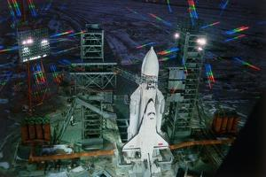 Space Shuttle Buran by Roger Ressmeyer