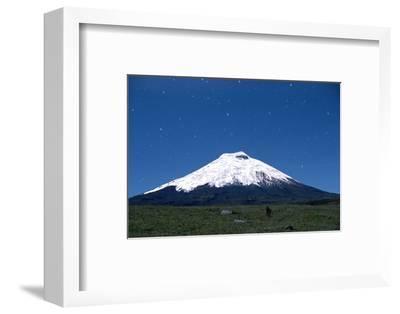 Stars over Cotopaxi Volcano