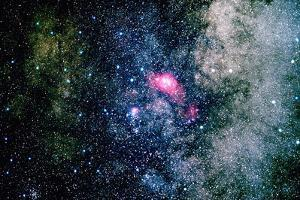 The Lagoon Nebula by Roger Ressmeyer