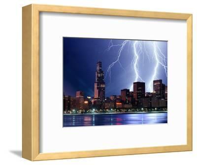 Thunderstorm over Chicago