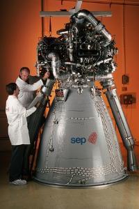Vulcain Engine of Ariane 5 by Roger Ressmeyer