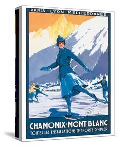 Mont Blanc, Chamonix by Roger Soubie