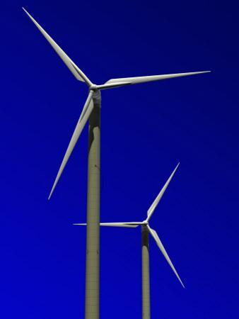 Wind Turbines, Computer Generation by Roger Sutcliffe