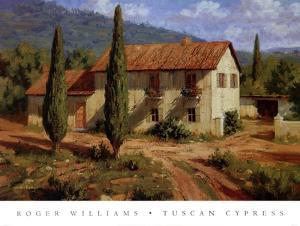 Tuscan Cypress by Roger Williams