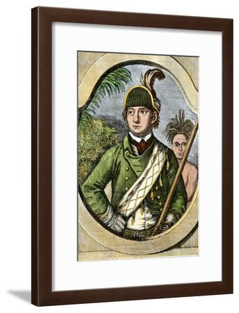Rogers' Rangers Leader Robert Rogers, French and Indian War--Framed Giclee Print