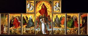 Altar of the Last Judgment: Overall View by Rogier van der Weyden
