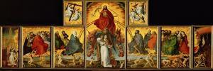 Altar of the Last Judgment: Overall View by Rogier van der Weyden
