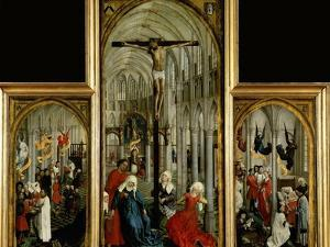Altar of the Seven Sacraments, Painted Before 1450 by Rogier van der Weyden