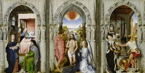 Altar with Scenes from the Legend of the John the Baptist by Rogier van der Weyden (Follower of)