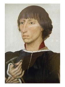 Francesco D'Este (Born About 1430, Died after 1475) by Rogier van der Weyden