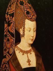 Isabelle De Bourbon, Wife of Charles the Bold of Burgunday, or Isabella of Portugal by Rogier van der Weyden