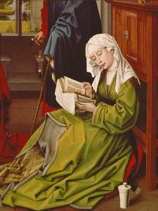 Mary Magdalene Reading, about 1435 by Rogier van der Weyden