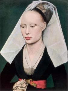 Portrait of a Lady, C1460 by Rogier van der Weyden