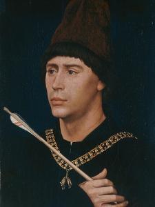 Portrait of Antoine, Bastard of Burgundy, about 1456 by Rogier van der Weyden