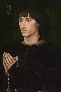 Portrait of Philip I De Croÿ (1435?151), Ca 1460 by Rogier van der Weyden