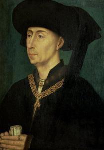 Portrait of Philip the Good (1396-1467) Duke of Burgundy by Rogier van der Weyden