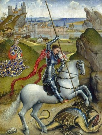 St. George and the Dragon, c.1432/1435