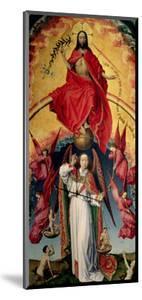 St. Michael Weighing the Souls, from the Last Judgement, C.1445-50 by Rogier van der Weyden