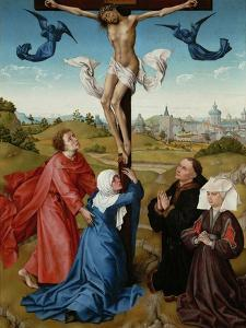 The Crucifixion (The Crucifixion Triptyc), C. 1440 by Rogier van der Weyden