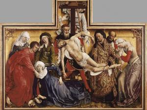 The Deposition from the Cross by Rogier van der Weyden