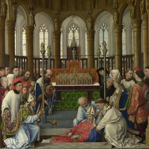 The Exhumation of Saint Hubert, 1430S by Rogier van der Weyden