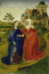 The Visitation of Mary, C. 1435 by Rogier van der Weyden