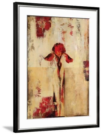 Rojo Floral II-Georgie-Framed Art Print