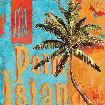 Rojo Palm II-Paul Brent-Art Print