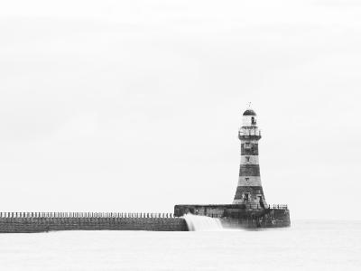 Roker Pier and Lighthouse, Sunderland, UK-Jason Friend Photography Ltd-Photographic Print