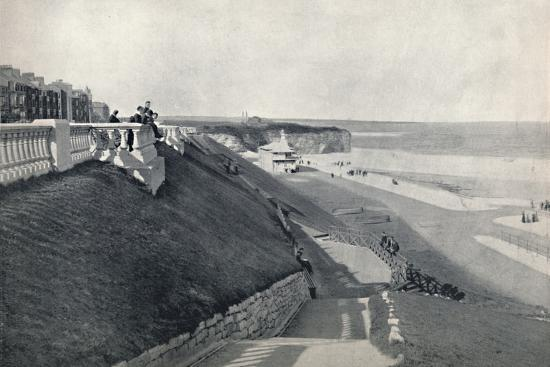 'Roker - The Beach, from the Terrace', 1895-Unknown-Photographic Print