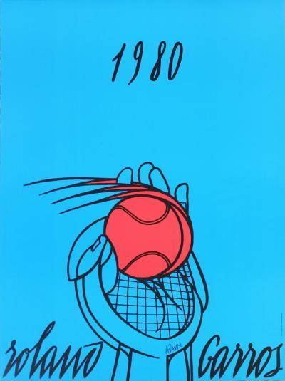 Roland Garros, 1980-Valerio Adami-Collectable Print