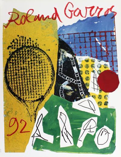 Roland Garros, 1992-Jan Voss-Collectable Print